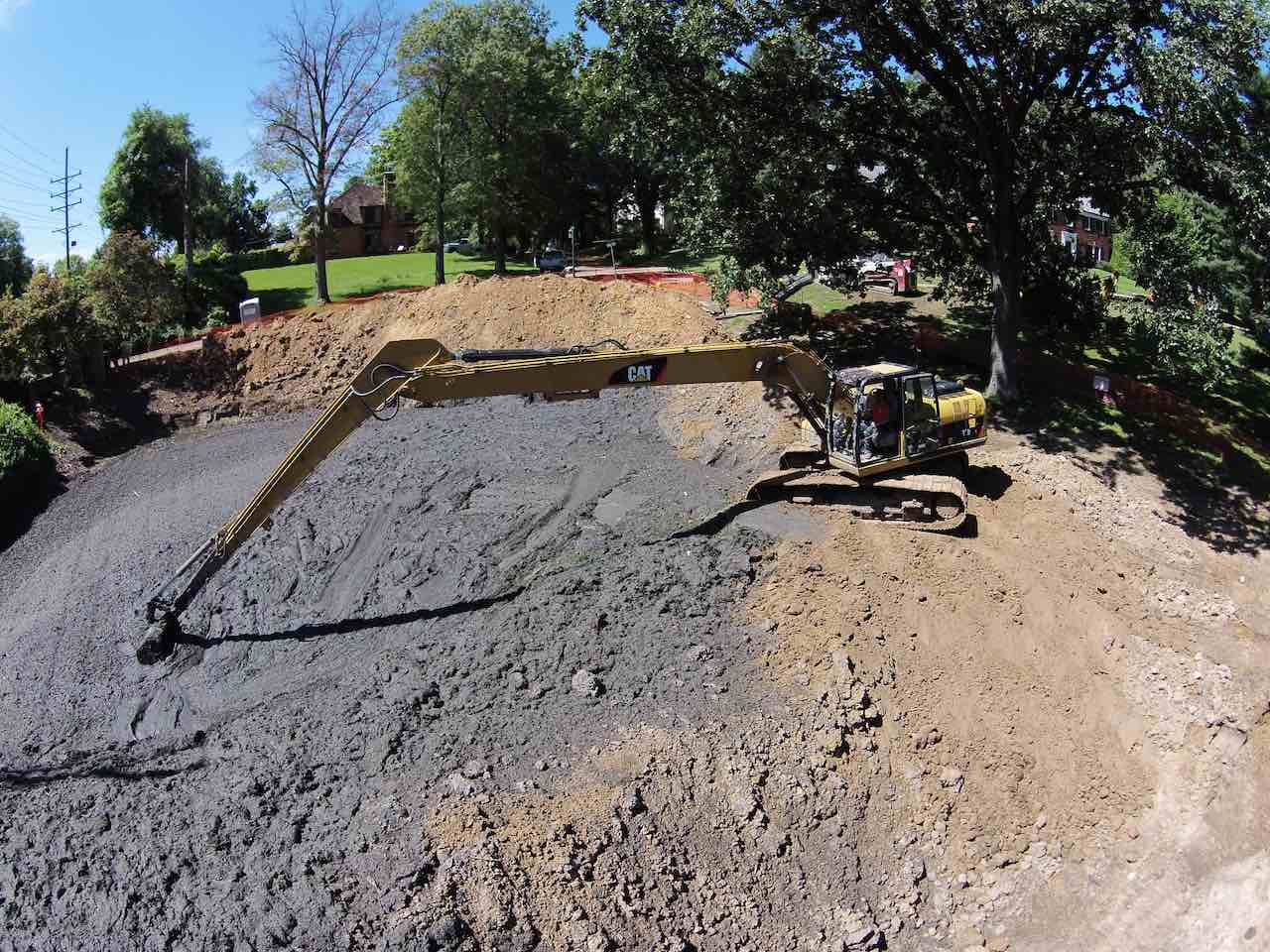 Pond + Lake Dredging | Stormwater Erosion Specialties